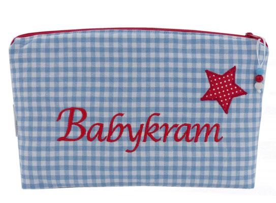 Windeltasche Babykram Stern