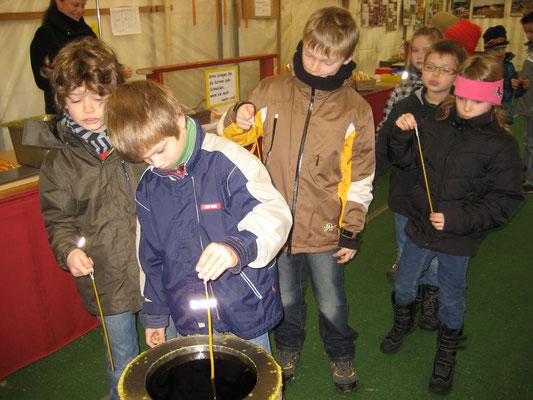 Kerzenziehen in Gernsbach