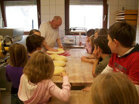 Bäckereibesuch bei der Bäckerei Hornung in Selbach