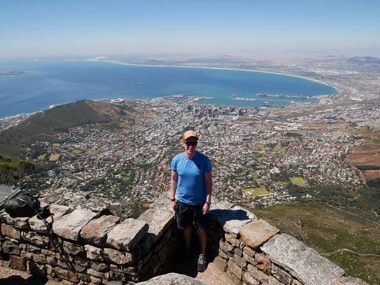 Table Mountain mit Capetown