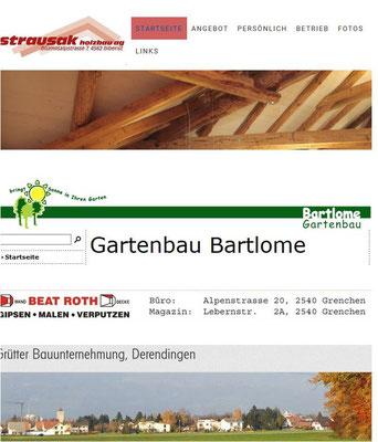 Gute Baufirma Solothurn