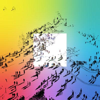 Colour-City / 2019 / Quadrat