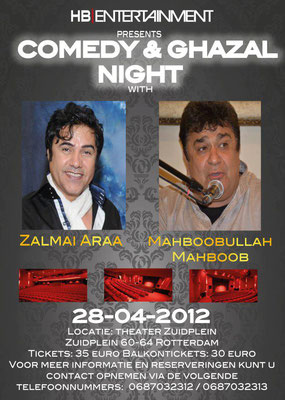 Ghazal & Comedy Night Rotterdam 2012.