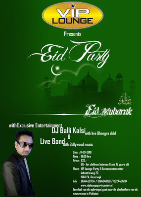 Eid Party with DJ Balli Kalsi & Haidari Brothers 2010