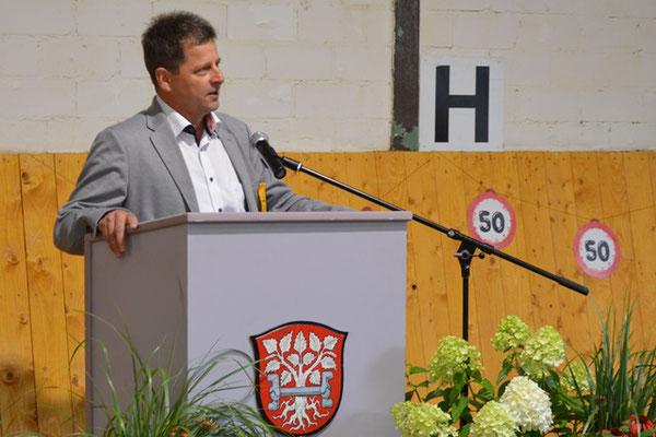 Helmut Morr, Bürgermeister Birkenau