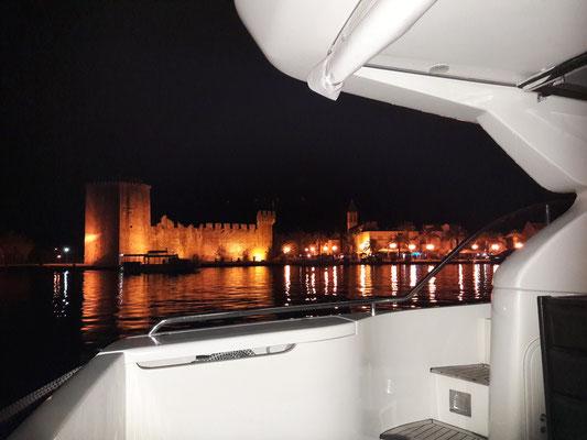 In der Marina gegenüber der Altstadt von Trogir