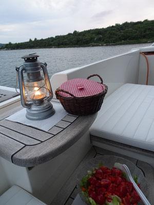 Bordleben in der Bucht
