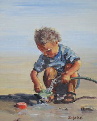 Hard At Work        -    8x10 oil - unframed      - 125. + shipping    To purchase or view, please contact me.