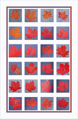Maple Leaf - 100% linen