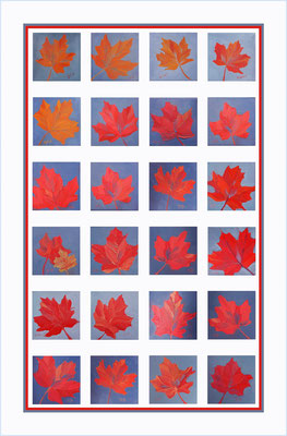 Maple Leaf - 100% linen