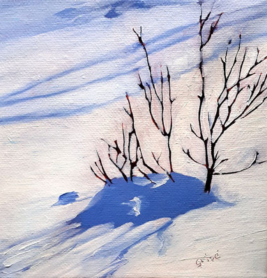 Winter Meadow    6x6x1.5  box canvas       95. CAD + shipping