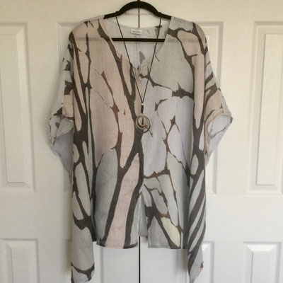 Linen Tunic - Waiting For Spring