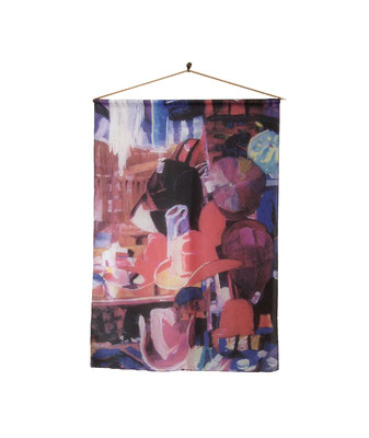 Silk Wall Hanging - The Hat Store