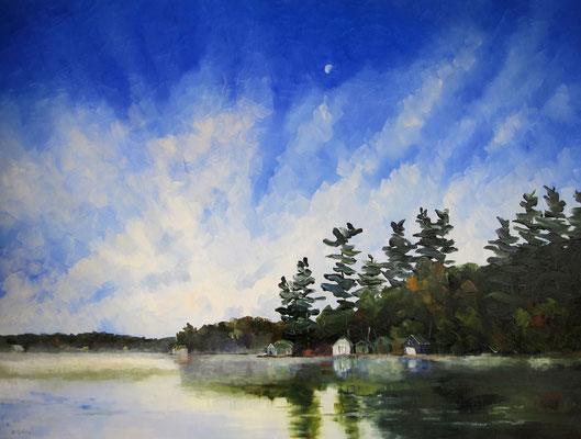 Moon Waking Rosseau 2010