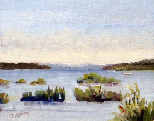 Papoose Bay - Georgian Bay Islands  -     10x8 oil - unframed        125.
