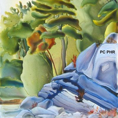 Pillow Cover - Proud Head Rock    PC PHR