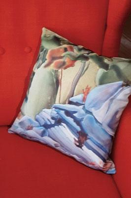 Pillow Cover - Proud Head Rock