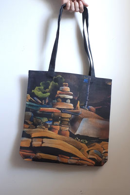 Tote Bag - 100% Linen j- The Offering