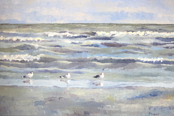 Waves And Gulls   2011