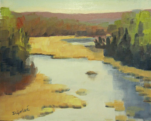 Beaver Pond Trail - Algonquin Park  -   10x8 oil - unframed        125.