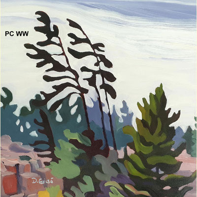Pillow Cover - West Wind    PC WW