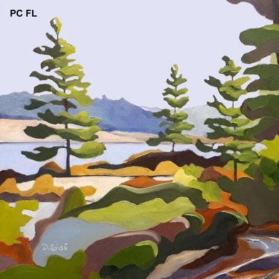 Pillow Cover - Fairy Lake    PC FL