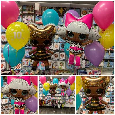 """""""LOL"""" Folienballons Preis pro Stück inkl. Helium, Bänder und Gewicht: 17,00€"""