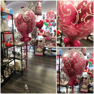 "35,00€ mit ca. 12-15 5"" Ballons"