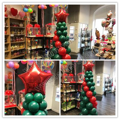 Tannenbaum aus Luftballons Preis: 39,00€