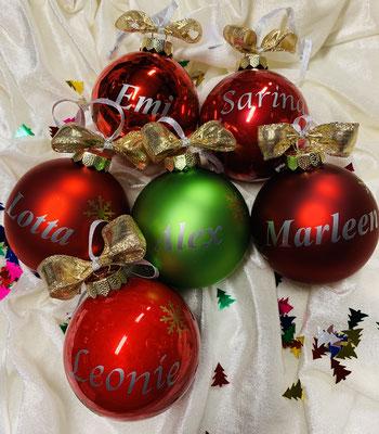 Personalisierte Weihnachtskugel inkl. Schiefe Preis: 11,50€