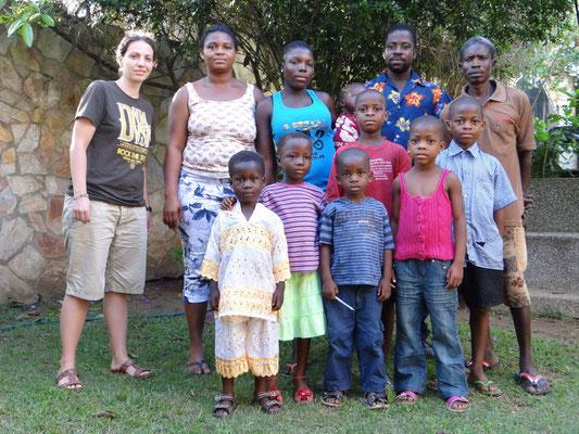 In Amanokrom konnten wir insgesamt 41 Leute versichern. Hier sind ein paar von ihnen...