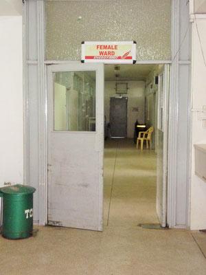 Zugang zur Bettenstation