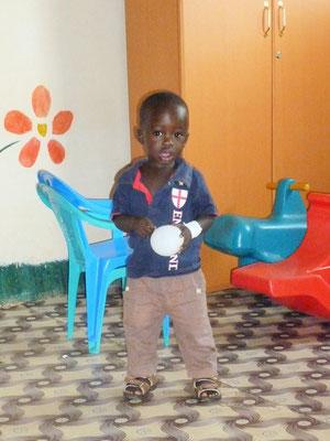 Kleiner Patient der Kinderstation