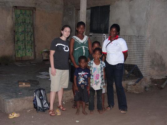 Diese Kinder aus Amanokrom konnten wir versichern...