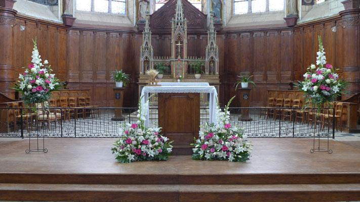 Pieds d'autels 60 euros