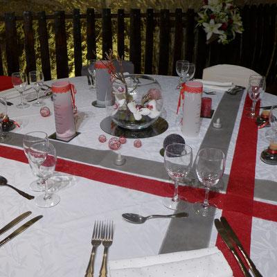 centre de table mariage Orchidées 20 euros