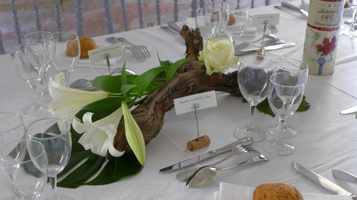 Abbaye Royale de Fontevraud. Mariage le clos des roses. Entre vigne et fleurs ! 15 euros