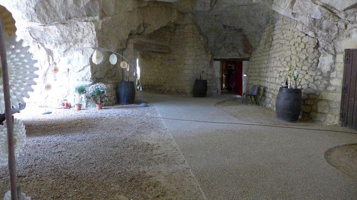 Entrée des caves