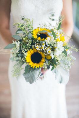 Bouquet de mariée champêtre 25 euros