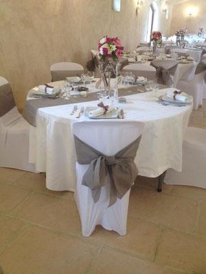 fleurs mariage au chateau du Bois de Sansay