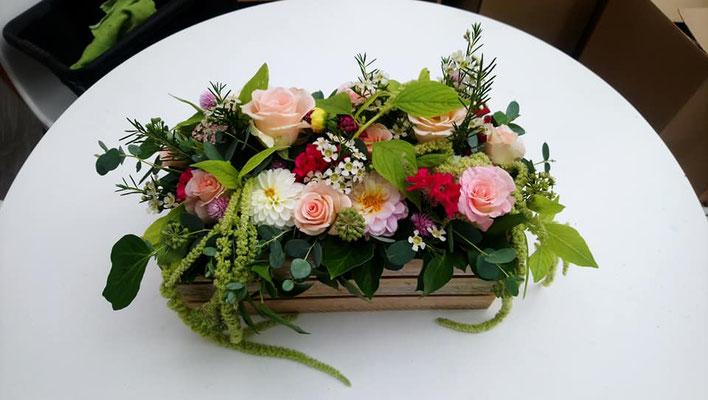 Cagette fleurie 30 euros