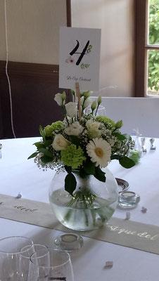 Centre de table de mariage 15 euros