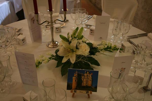 centre de table mariage 30 euros
