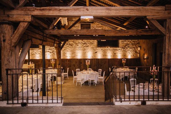 Décoration salle mariage par Le Clos des Roses