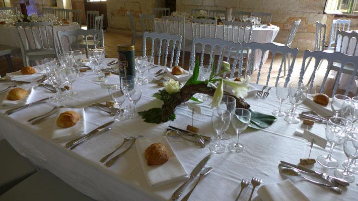 Abbaye Royale de Fontevraud. Mariage le clos des roses. Entre vigne et fleurs !