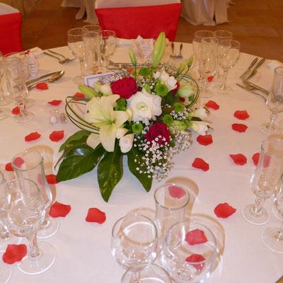 centre de table mariage 25 euros