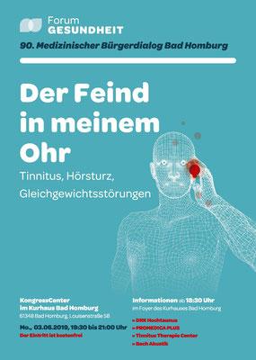 Tinnitus, Hörsturz, Gleichgewichtsstörungen