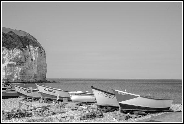 Yport#Kreidefelsklippen#Fischerboote