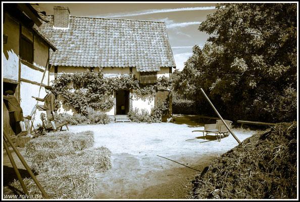 Bauernhaus # Landidyllle # Schwarz Weiss