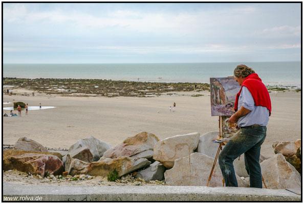Varengeville-sur-Mer#Strand#Maler